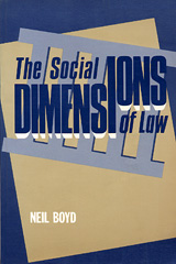 cover, Social Dimensions of Law by Neil Boyd